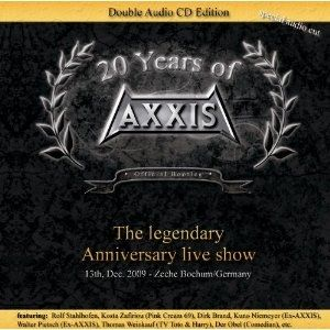 20 years of Axxis Live Album